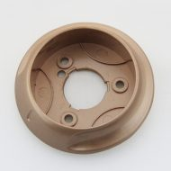 Round shape hot sale push on off knobs 113028+5